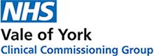 NHS Vale of York logo
