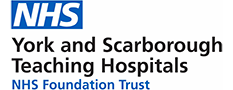 NHS York and Scarborough Teaching Hospitals logo.